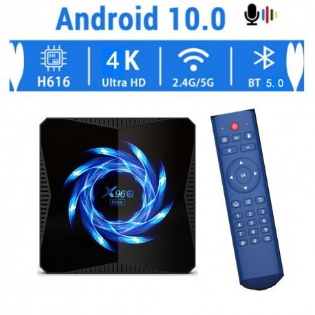Приставка 4k  X96Q MAX Android 10.0  4/32GB